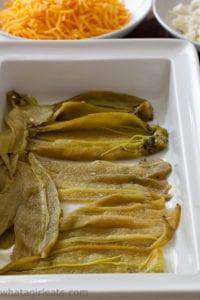 hatch chiles in casserole