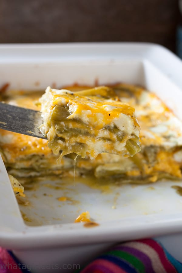 Low carb chile casserole