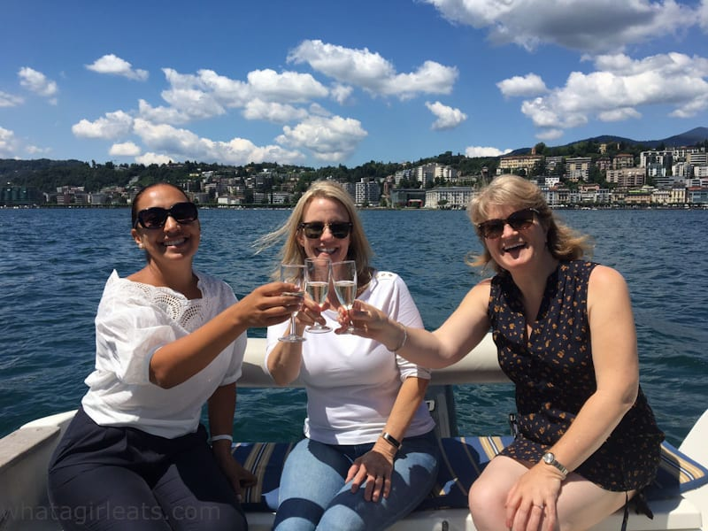 Lake Lugano Prosecco Cruise and Cook