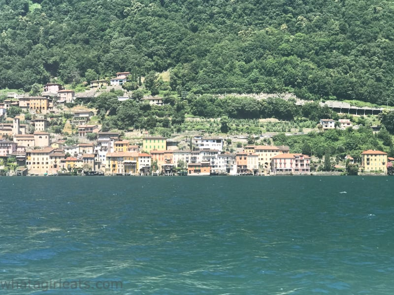 Lake Lugano Gandria Cruise and Cook