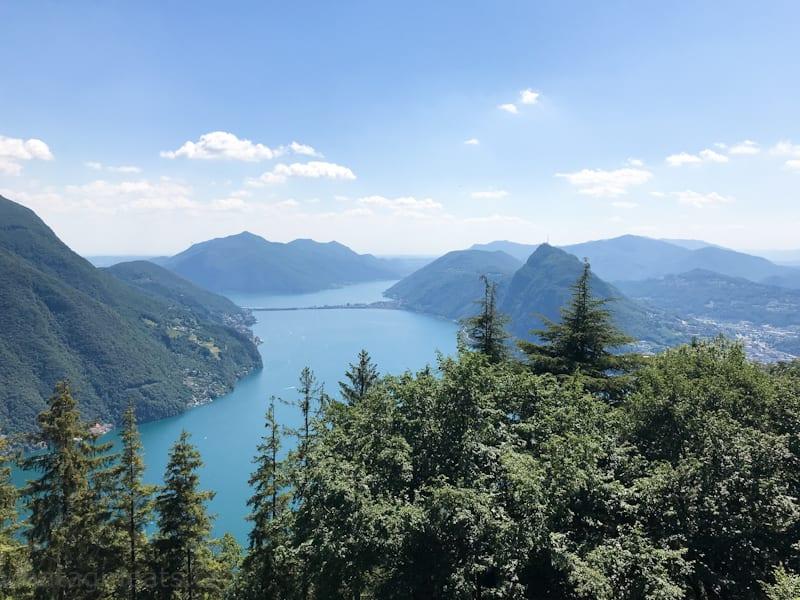 View from Monte Brè.