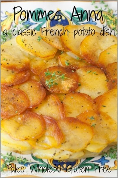 Pommes anna pin