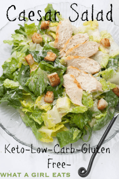 Caesar Salad dressing with no raw eggs is keto, Paleo and gluten free