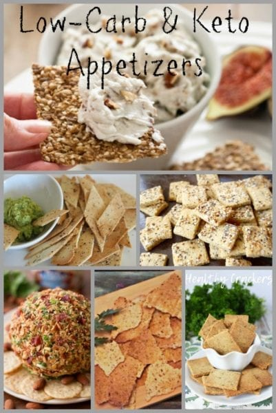 keto appetizer pin