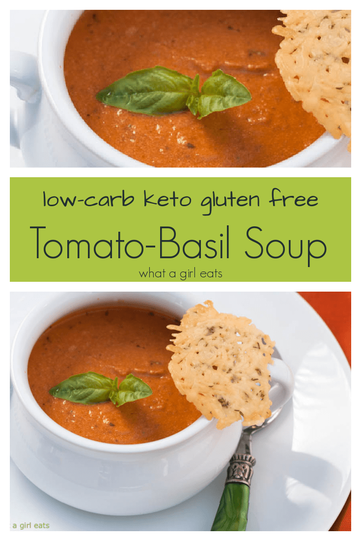 Creamy Tomato Basil Soup is ready in under 20 minutes with just 5 ingredients!