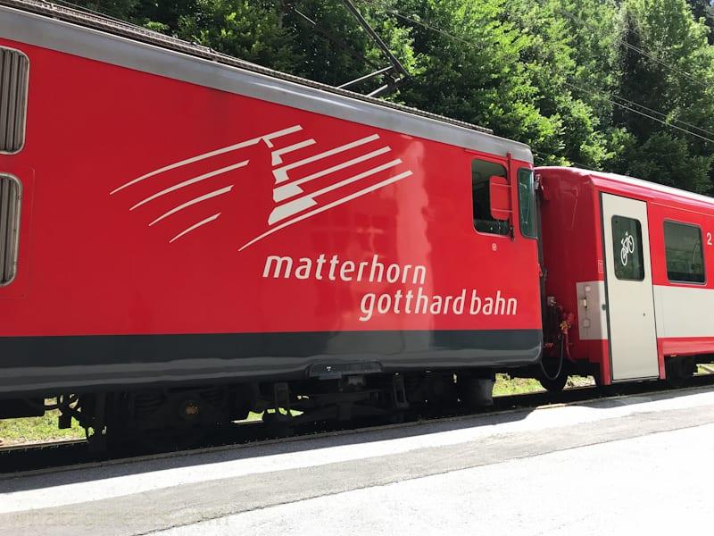 Zermatt Matterhorn train
