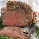 Leg of lamb with rosemary