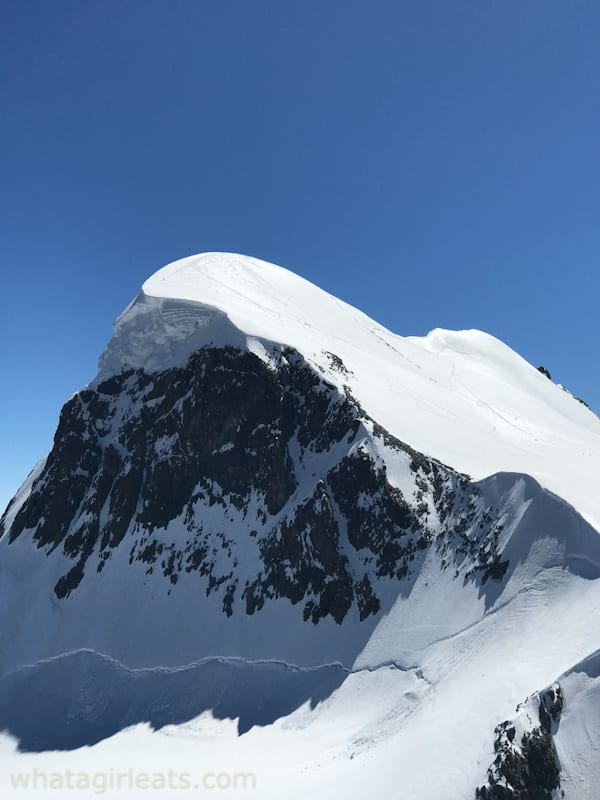 Zermatt Glacier paradise matterhorn