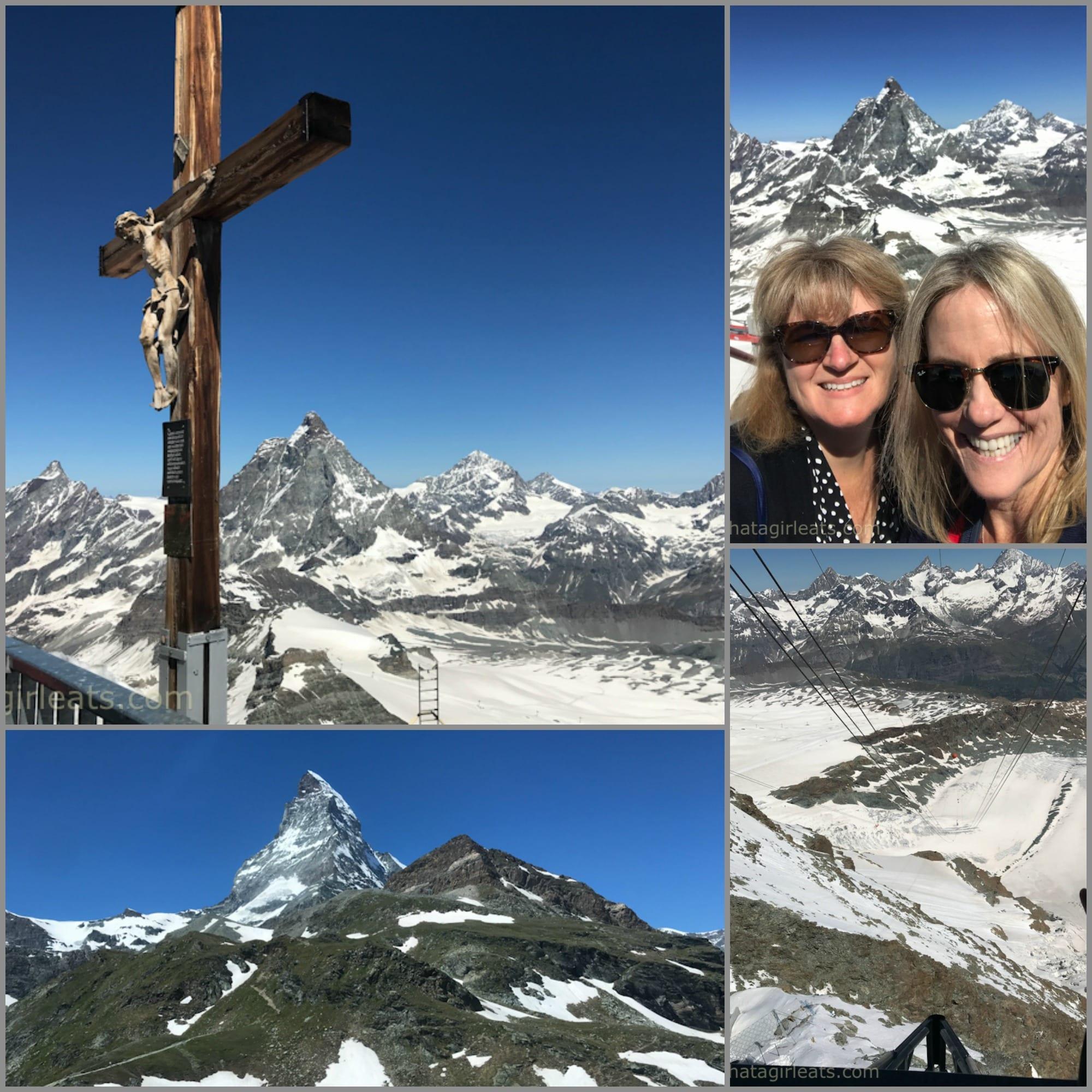 Matterhorn Zermatt Glacier collage