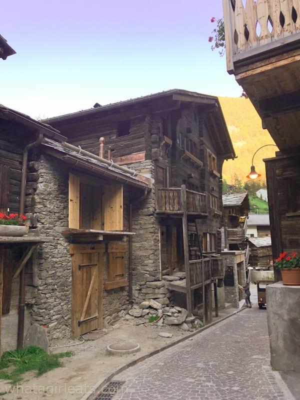 Zermatt village street
