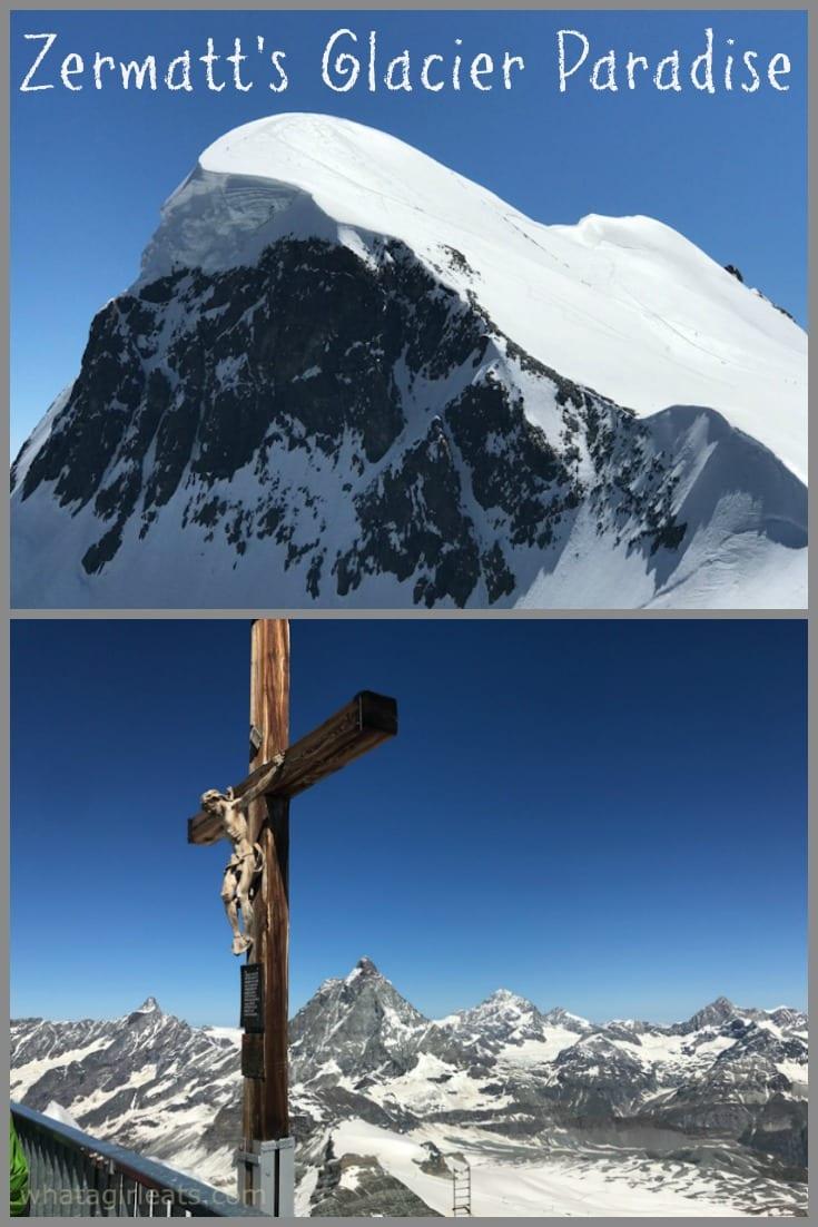 Zermatt Glacier paradise pin