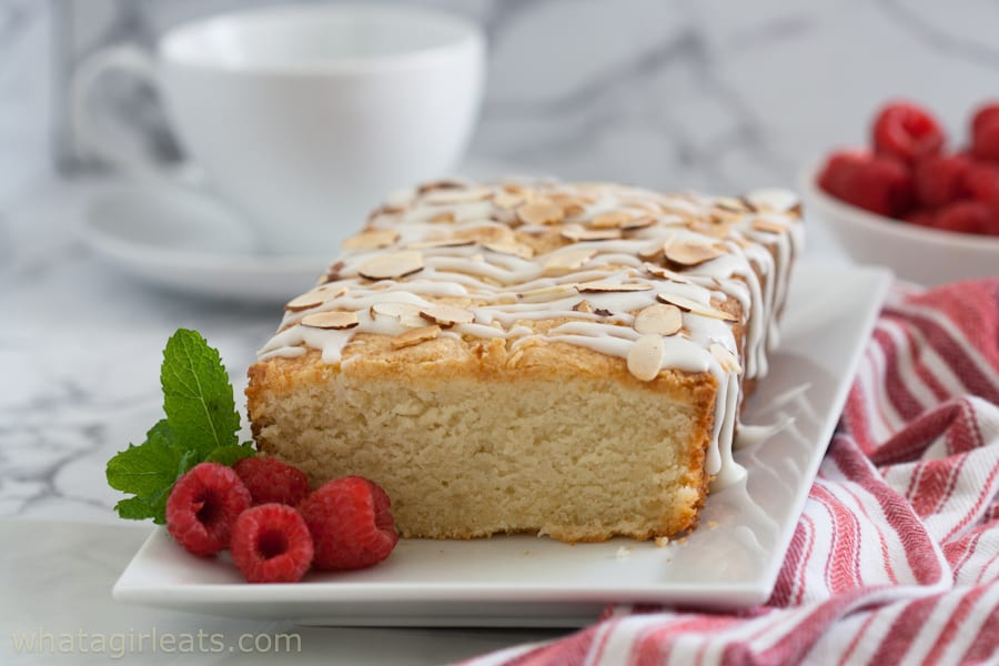 gluten free almond pound cake