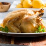 Lemon Roasted Chicken {Pollo Al Limone}