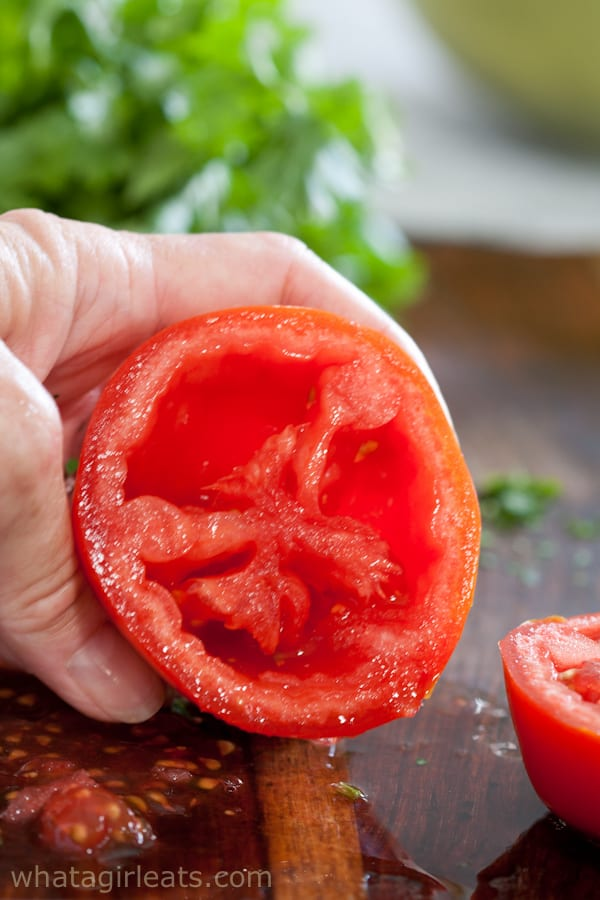 tomato without seeds