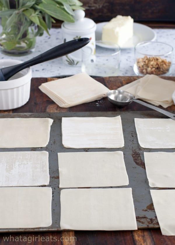 Wonton skins for ravioli