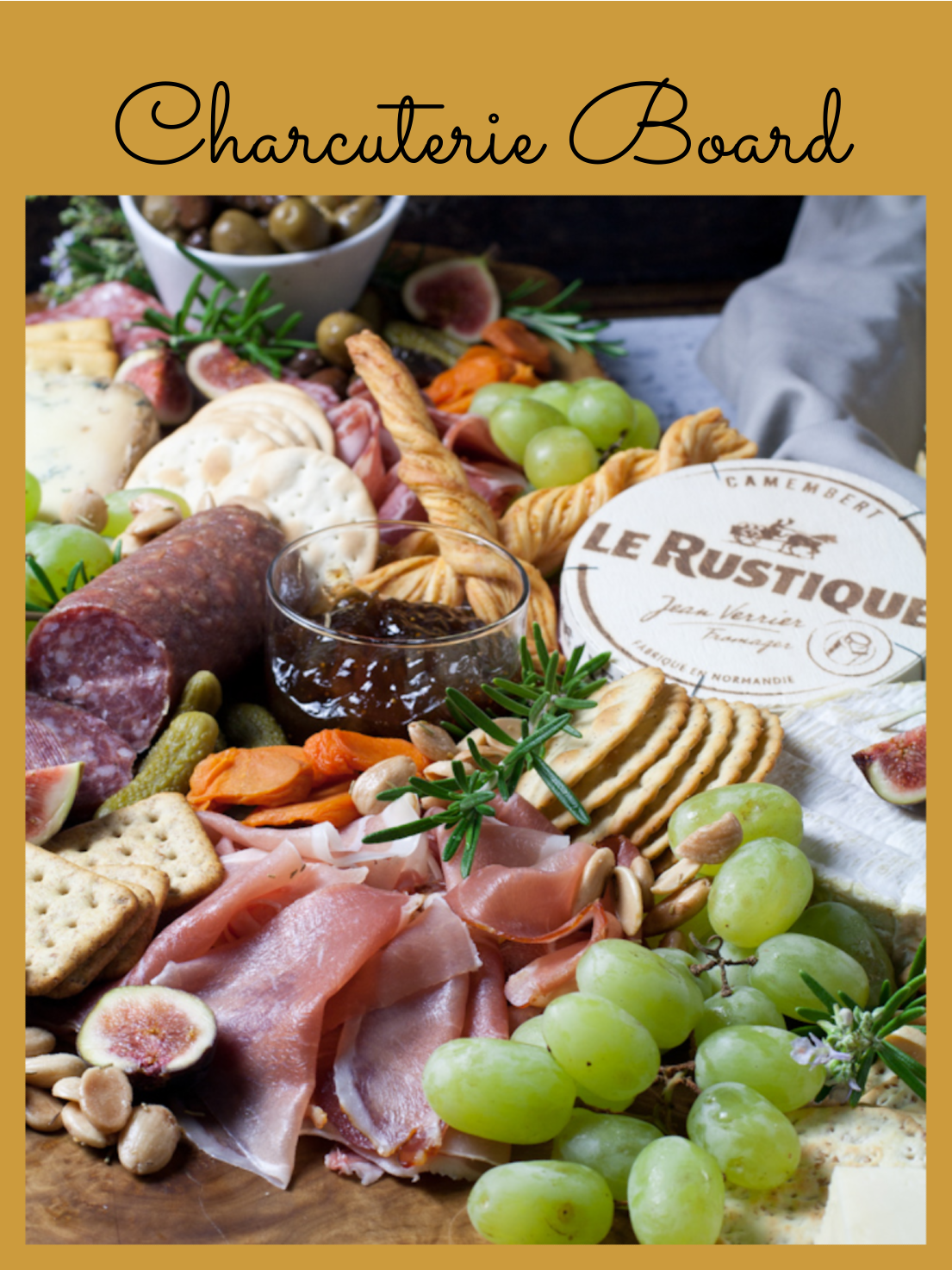 "Have you been using the word ""charcuterie"" incorrectly? A charcuterie board is comprised primarily of meat and cheeses. Find out how to make the perfect board."