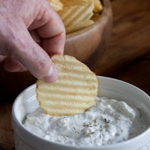french onion dip site pin