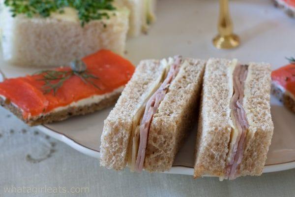 Ham and Irish cheddar