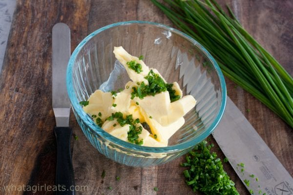 chive butter ingredients