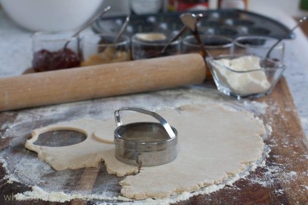 dough and cutter