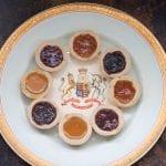 tarts on round plate