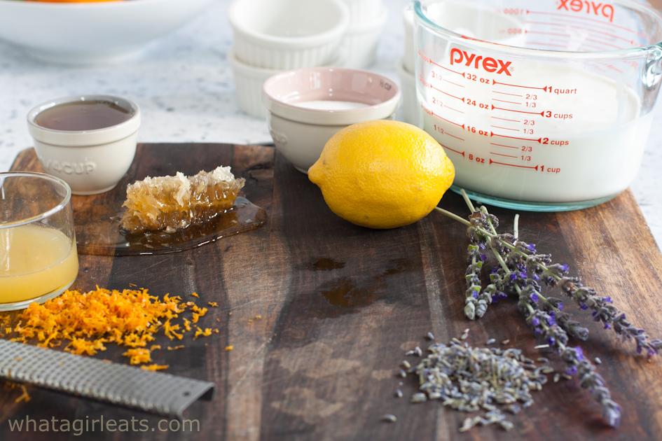 lavender posset ingredients