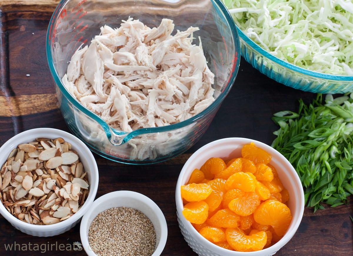 chinese chicken salad ingredients
